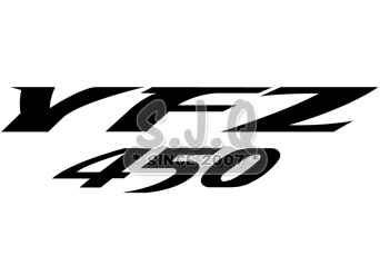 Sticker quad yamaha YFZ 450 2