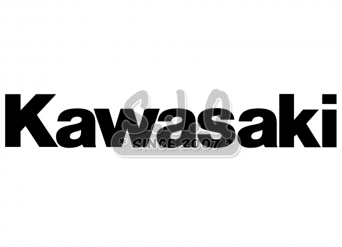 Sticker quad kawasaki