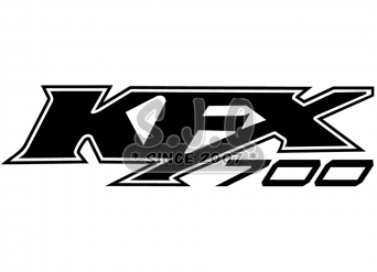Sticker quad kawasaki KFX 700