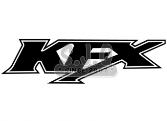 Sticker quad kawasaki KFX