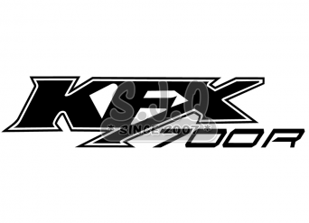Sticker quad kawasaki KFX700R