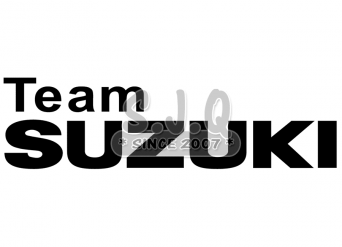 Sticker moto scooter SUZUKI TEAM