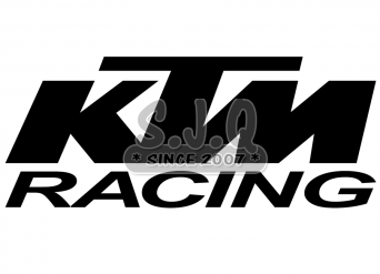 Sticker quad KTM RACING