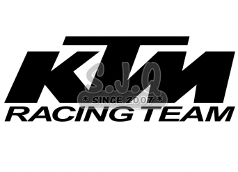 Sticker quad KTM TEAM