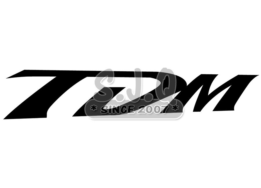Sticker Moto Yamaha Tdm Boutique En Ligne Autocollant Et