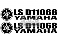 Sticker jetski KIT IMMATRICULATION YAMAHA